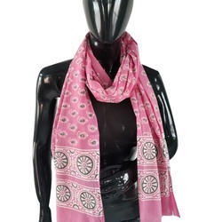 Pink Ladies Printed Stole