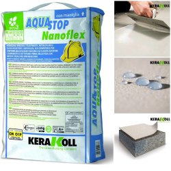 Kerakoll Aquastop Nanoflex, 20kg, Packaging Type: PP Bag