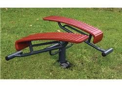 SNS813 Sit Up Outdoor Gym Equipment