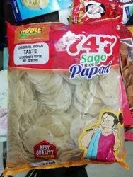 Sago Rice Papad