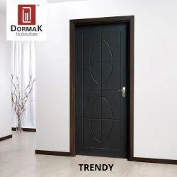 Trendy Decorative Wooden Membrane Designer Door
