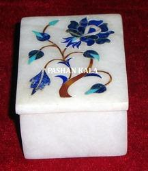 Inlay Design Marble Box