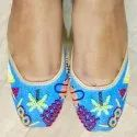 Women Flat Khussa Wedding Juttis
