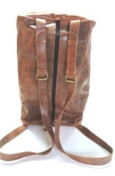 Heavy Duty Leather Travel Bag