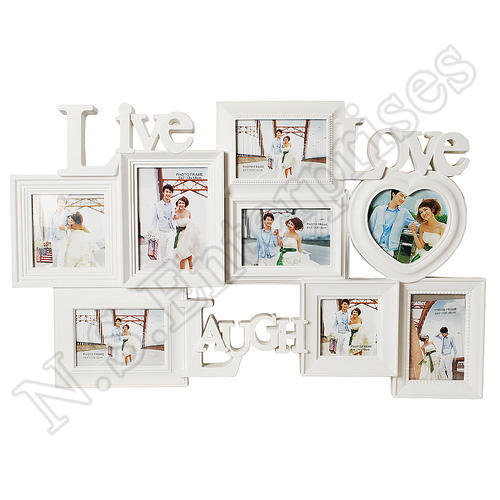 CF-01 Live Love Laugh Collage Frame at Rs 650 /piece | Collage Frame ...