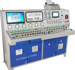Asphalt Hot Mix Plant Control Panel