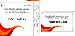 Lutein Zeaxanthin Astaxanthin and Omega-3 Fatty Acid with Vitamins Softgel Capsules