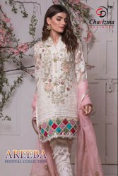 Designer Salwar Suit Charizma Areeba Festival Collection