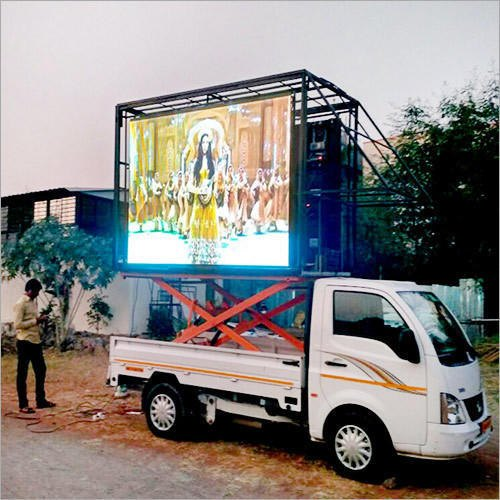 LED Van, For For Mobile Advertising, Hydraulic