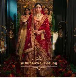 Wedding Wear Red Latest New Arrival Heavy Bridal Lehenga