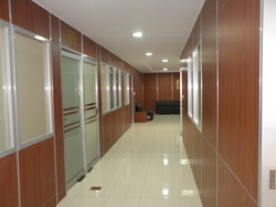 Modular Glass Office Partition