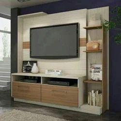 Wooden Designer Coloured TV Unit