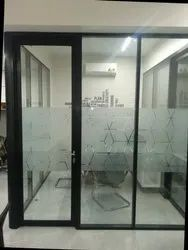 Orb Aluminum Style Door Partition