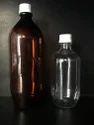 Amber Black Phenyl Bottle