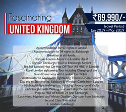 Fascinated United Kingdom Tour Package