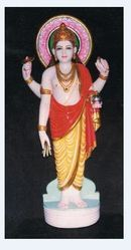 dhanvantri marble statue