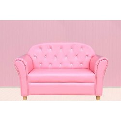 Light Pink Two Seater Sofa