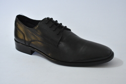 Men's Formal Shoes Cowhide Fall Business Oxfords Water Proof Black / Brown