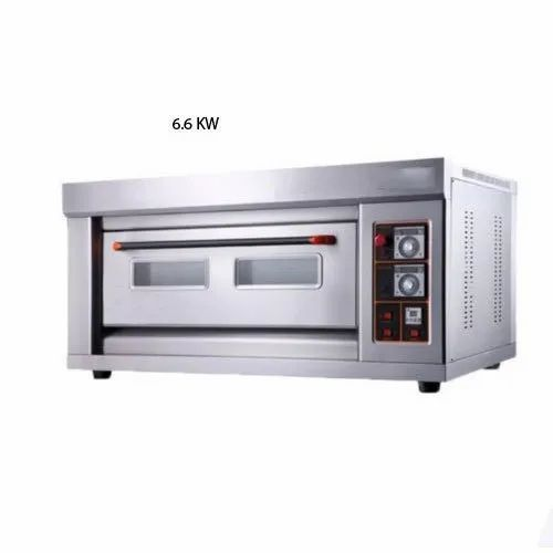 6.6kw Ss 6.6 kW Electric Oven, Size/Dimension: 1220x815x350mm, Model: PE 12 EO