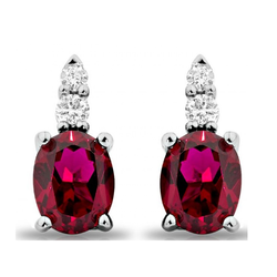 Tortoys Shape Ruby Jewellery