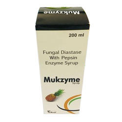 Fungal Diastase With Pepsin Enzyme Syrup