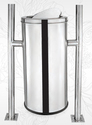 Stainless Steel Hanging Swing Bin With lid