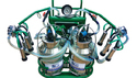 Double Bucket Trolley Milking Machine
