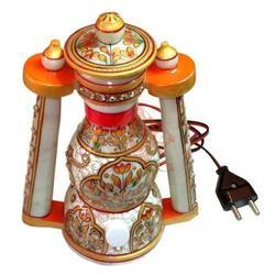 Golden Jali Marble Lanterns
