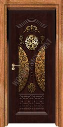 Brown Designer Door Skin