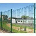 Medium Profile Balde Powder Coated Weld Mesh Fence Panel System