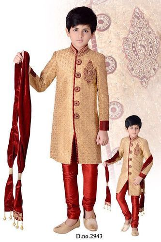 8cb297f30a651 Kids Wear Wholesaler in Inda - Boys Indian Designs Clothes Sherwani ...