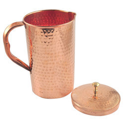 Pure Copper Water Jug Vessel Pitcher