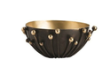 Metal Flower Bowl