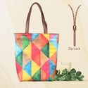 New Designs & Shape in Tote Bags with Zip Closure