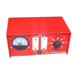 Single Phase Red Battery Charger