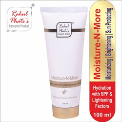 100 ml Rahul Phate's Moisture-N-More Hydration With SPF & Skin Lightening Factors