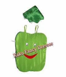 Kids Smiley Capsicum Cutout Costume