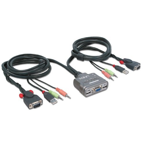 Duel Port KVM Switch Cable