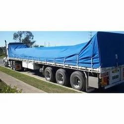 Blue HDPE Truck Cover