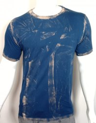 Acid Wash Mens Half Sleeves T Shirt