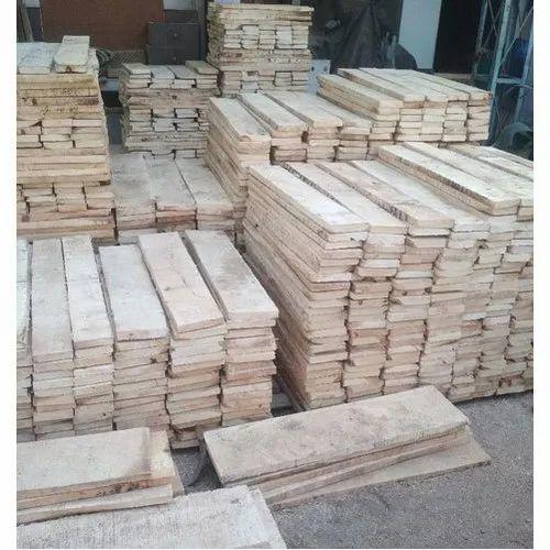 White Rectangular Mango Wood Lumber Rs
