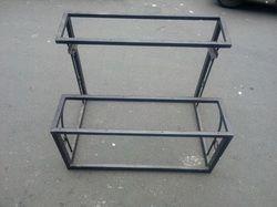 School Bench Iron Frame 2 Seater