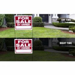 Reflective Yard Signs