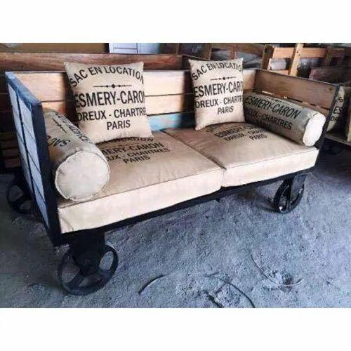 2 Seater Restaurant Sofa