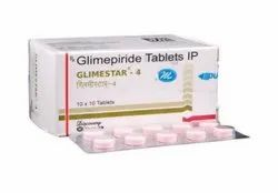 Glimestar 4 mg 1 Tablet