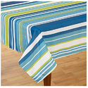 Multi Stripe Table Cloth