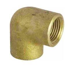 Viking Brass Elbow, Size: 3/4 inch