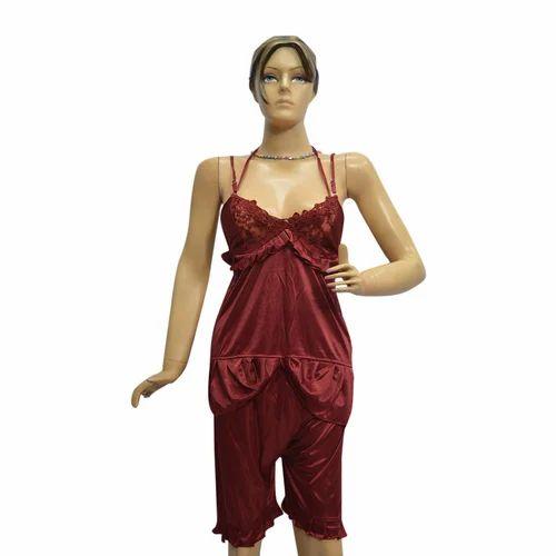 620829bcff Six Piece Ladies Nightwear Satin Ladies Nighty
