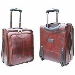 Brown Cabin Trolley Bag