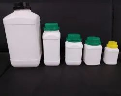 HDPE Square Jar for Pharmaceutical